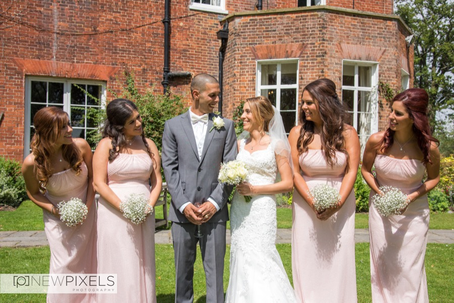 Wedding photographer at mulberry house Essex