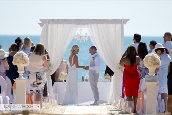 Beach Wedding in Vilamoura - Portugal, Destination Wedding Photographers