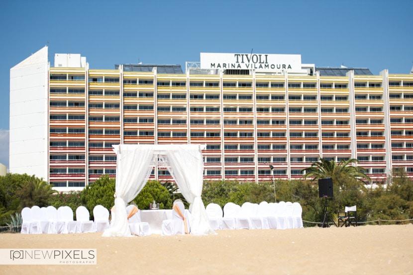 Beach Wedding in Vilamoura - Portugal, Destination Wedding Photographers