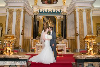 St Peter Italian Church, Wedding Photography in London