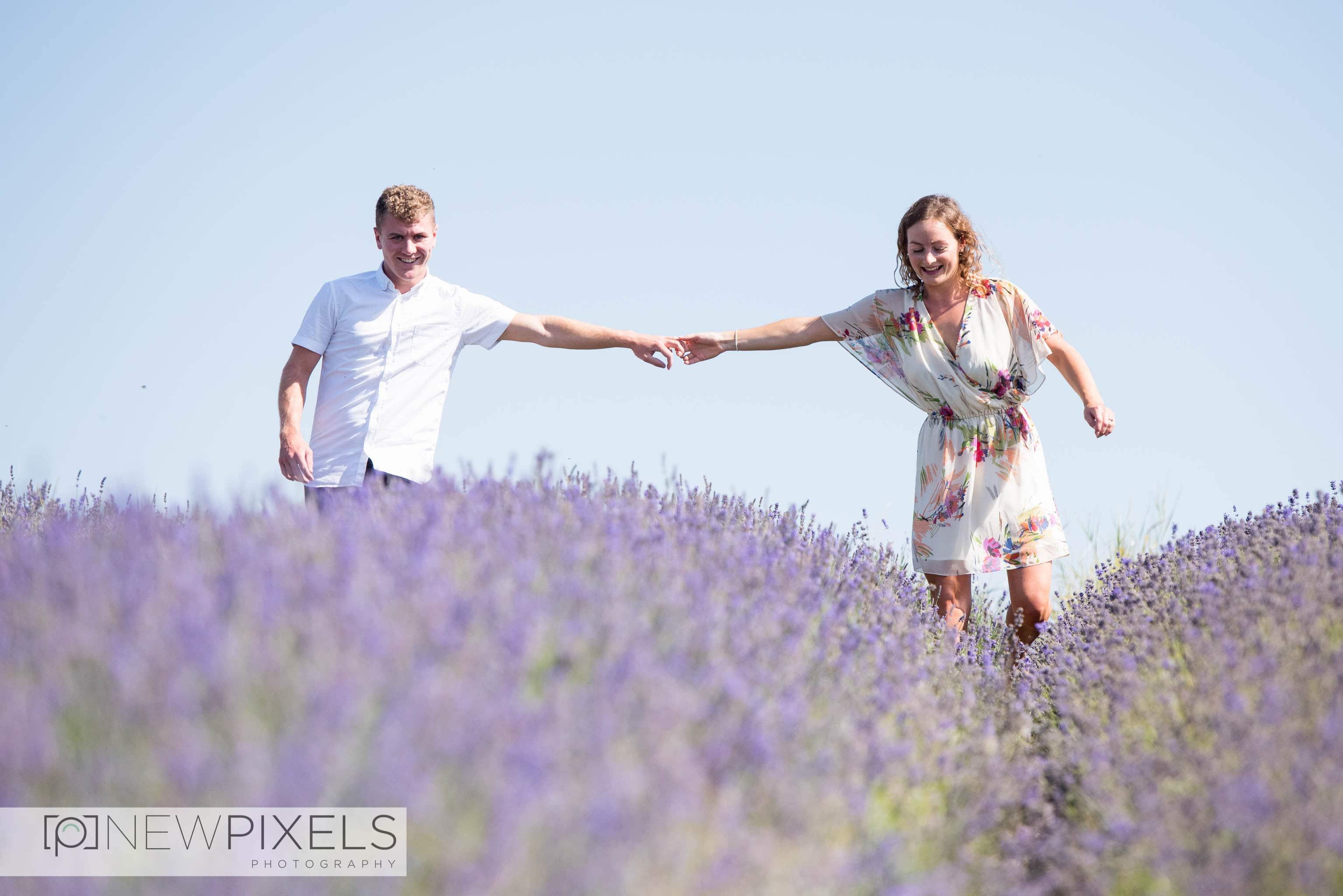 Lavender_Field_Engagement_Shoot-10
