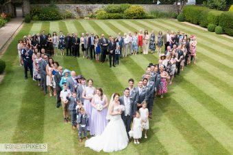 Hertfordshire Wedding Photographer Group Shot