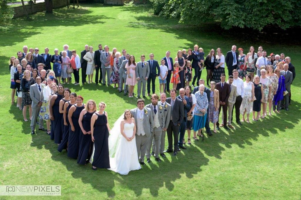 Fanhams Hall Hertfordshire Wedding Photographs-10