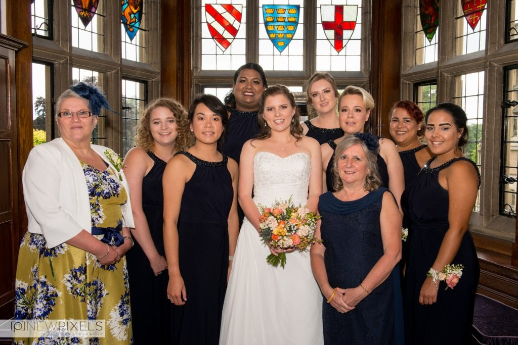 Fanhams Hall Wedding Photography-12