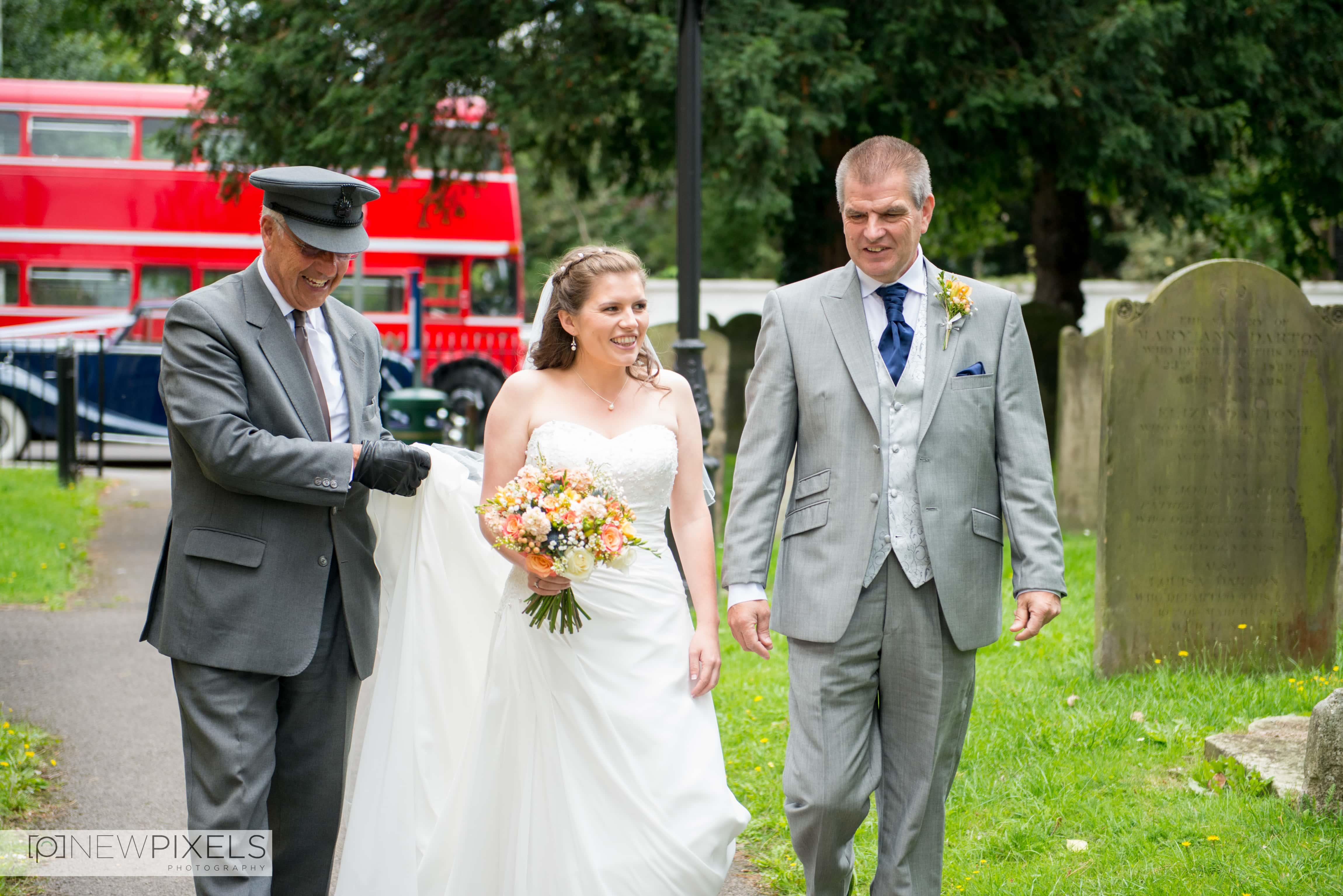Fanhams Hall Wedding Photography-13