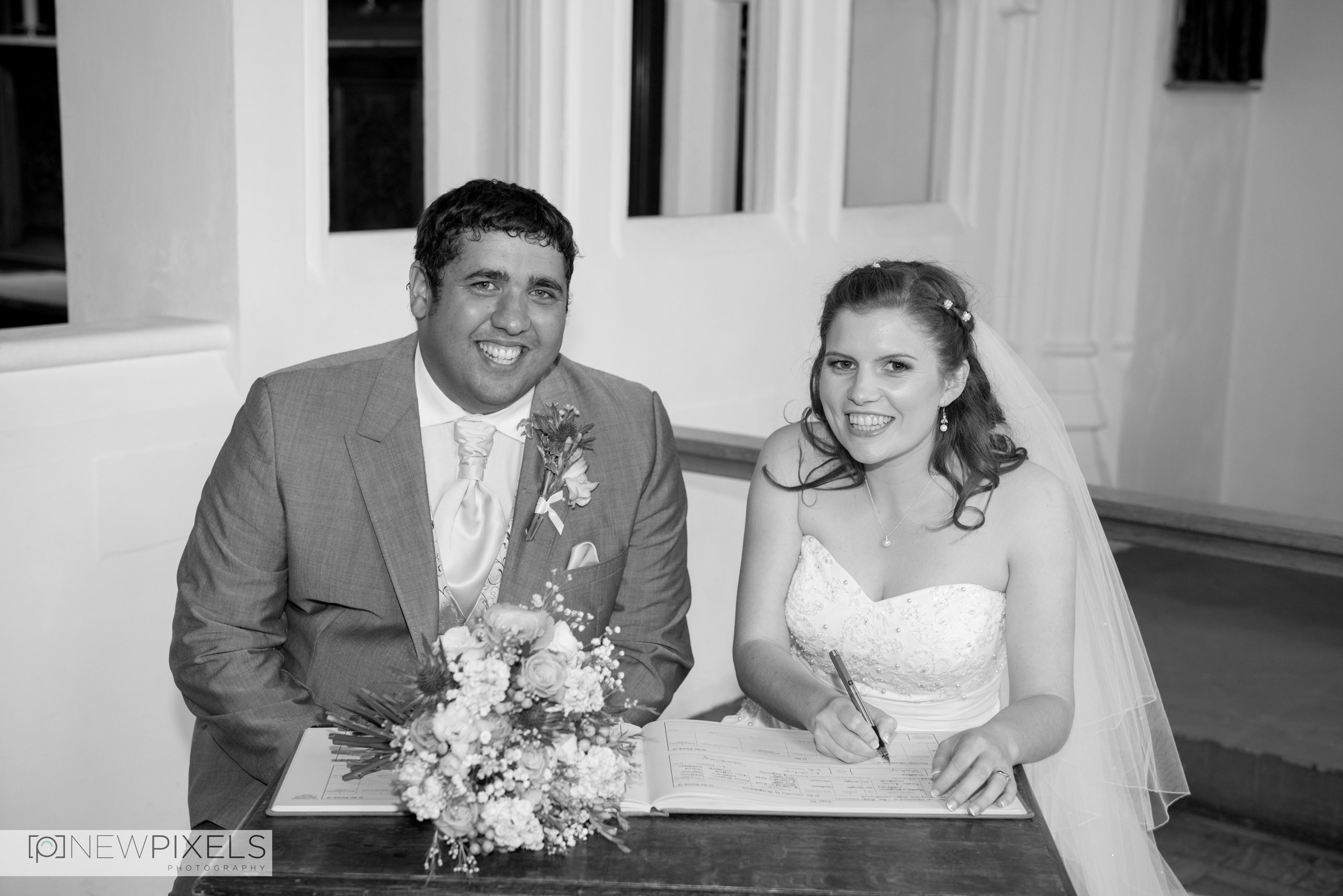 Fanhams Hall Wedding Photography-17
