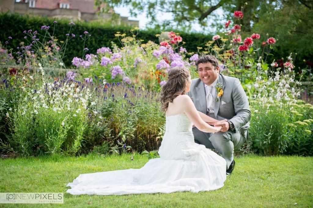 Fanhams Hall Wedding Photography-29