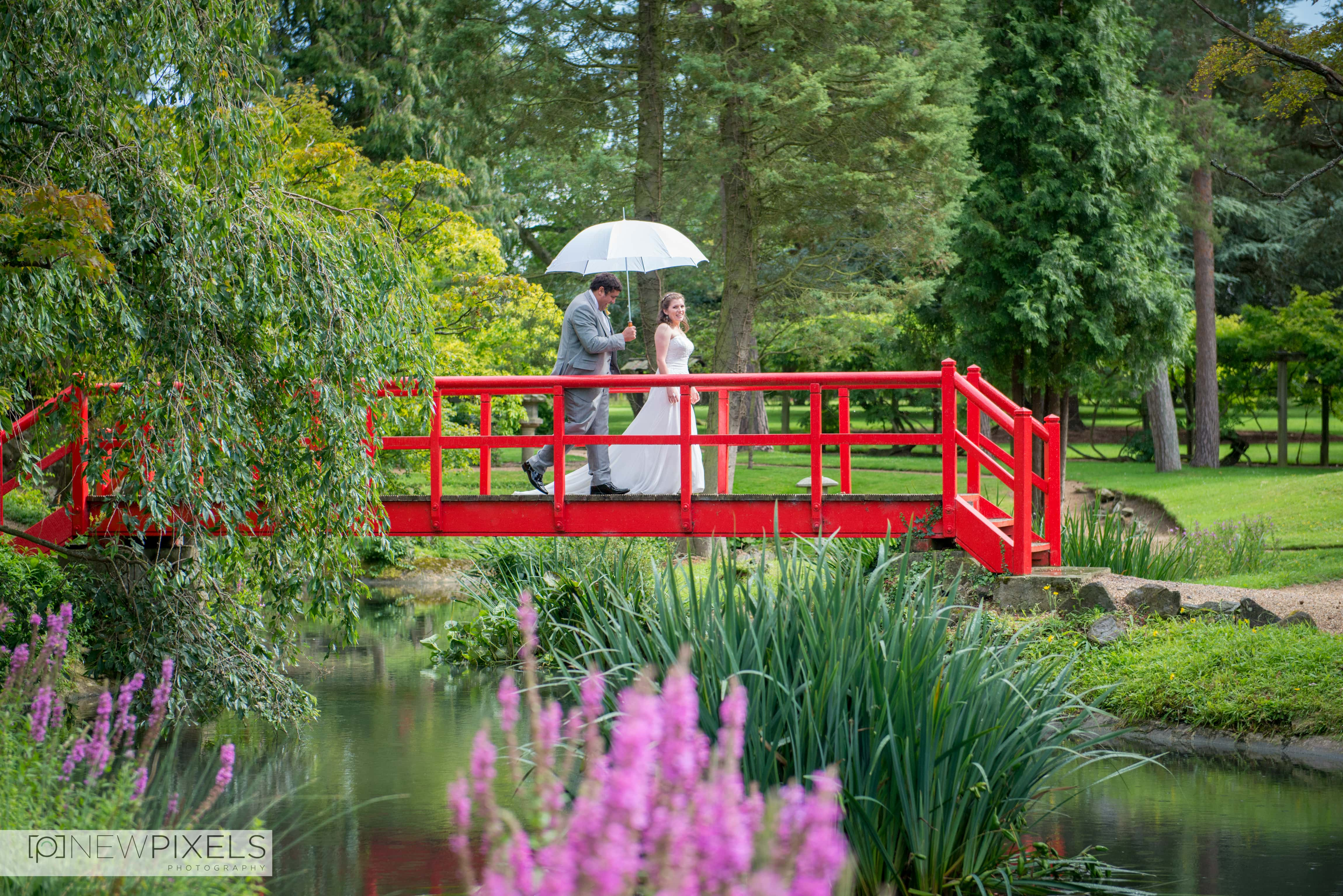 Fanhams Hall Wedding Photography-34
