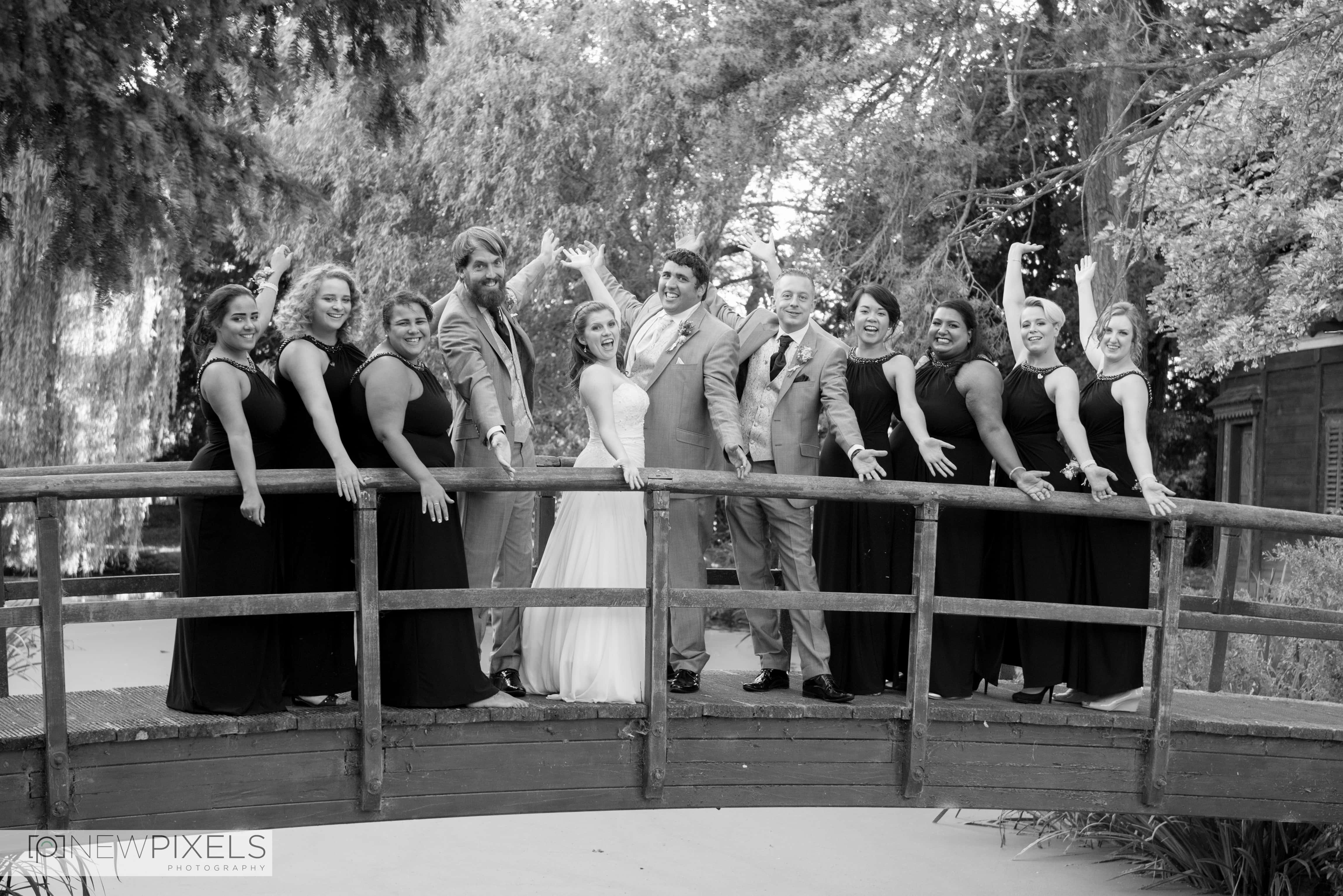 Fanhams Hall Wedding Photography-44