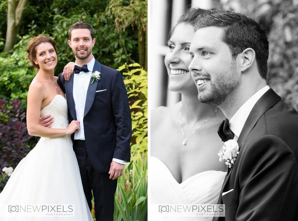 Newlands Hall Wedding Photo