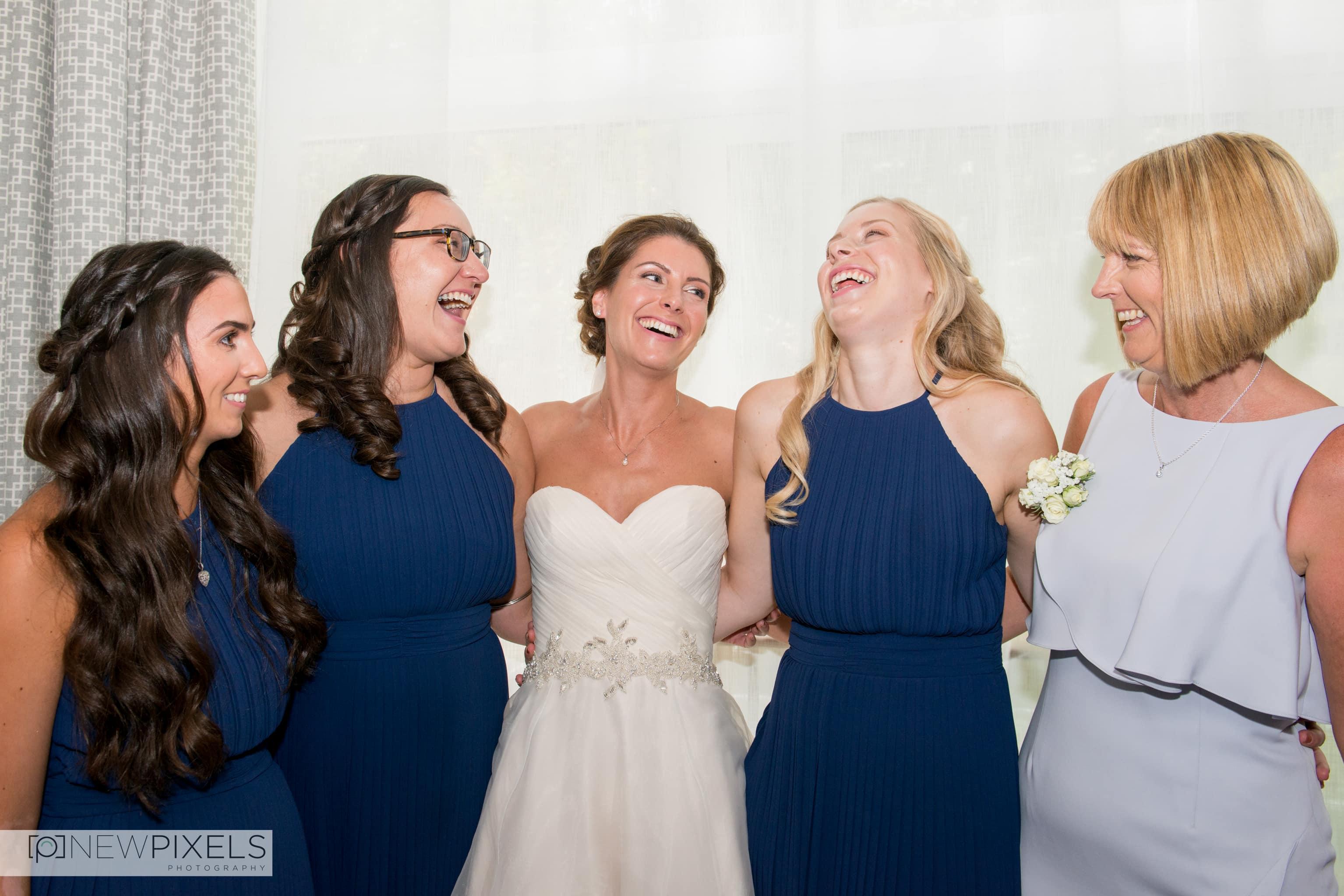 Newlands Hall Wedding Photographer-16