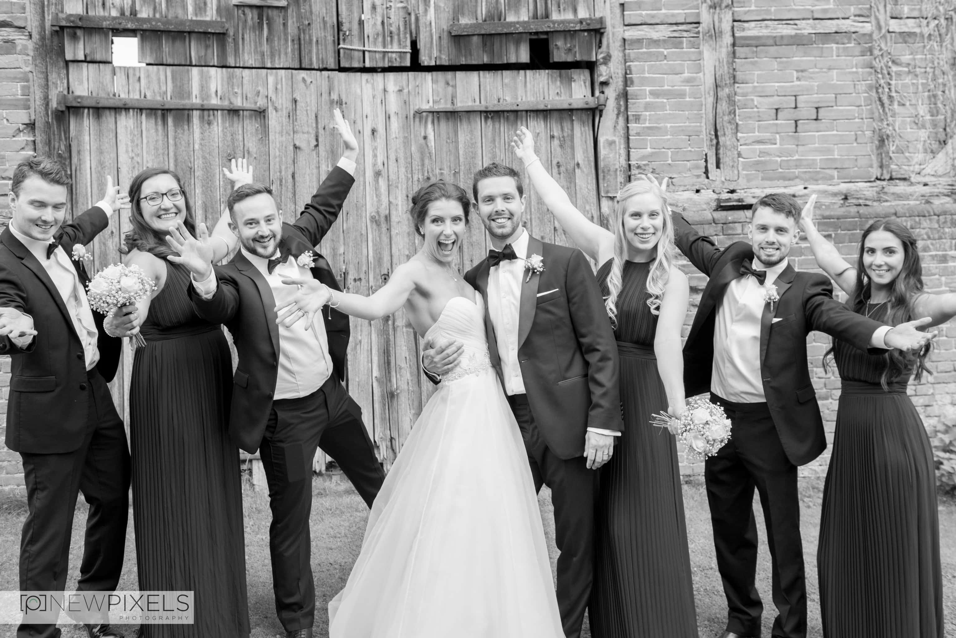 Newlands Hall Wedding Photographer-37