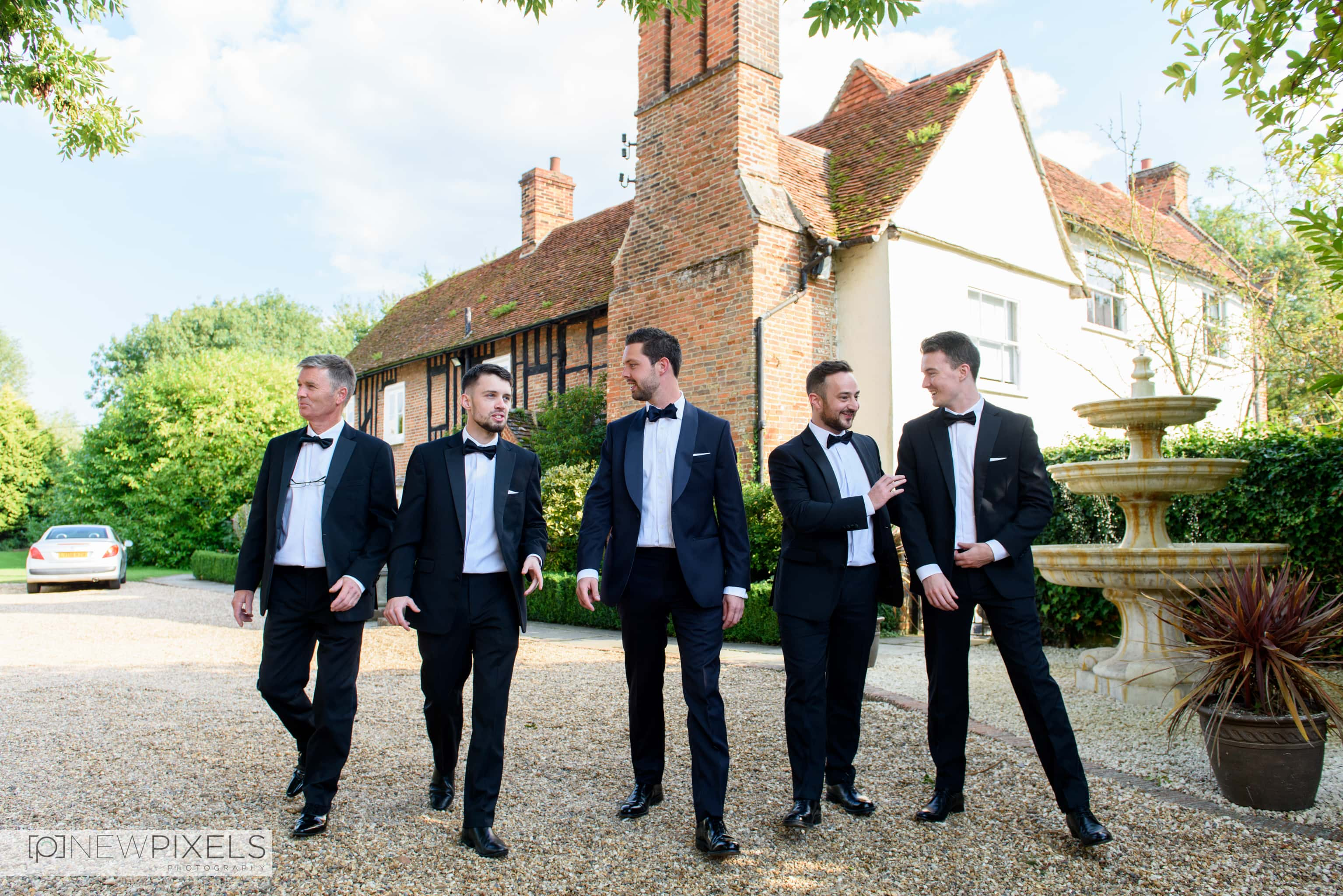 Newlands Hall Wedding Photography-11