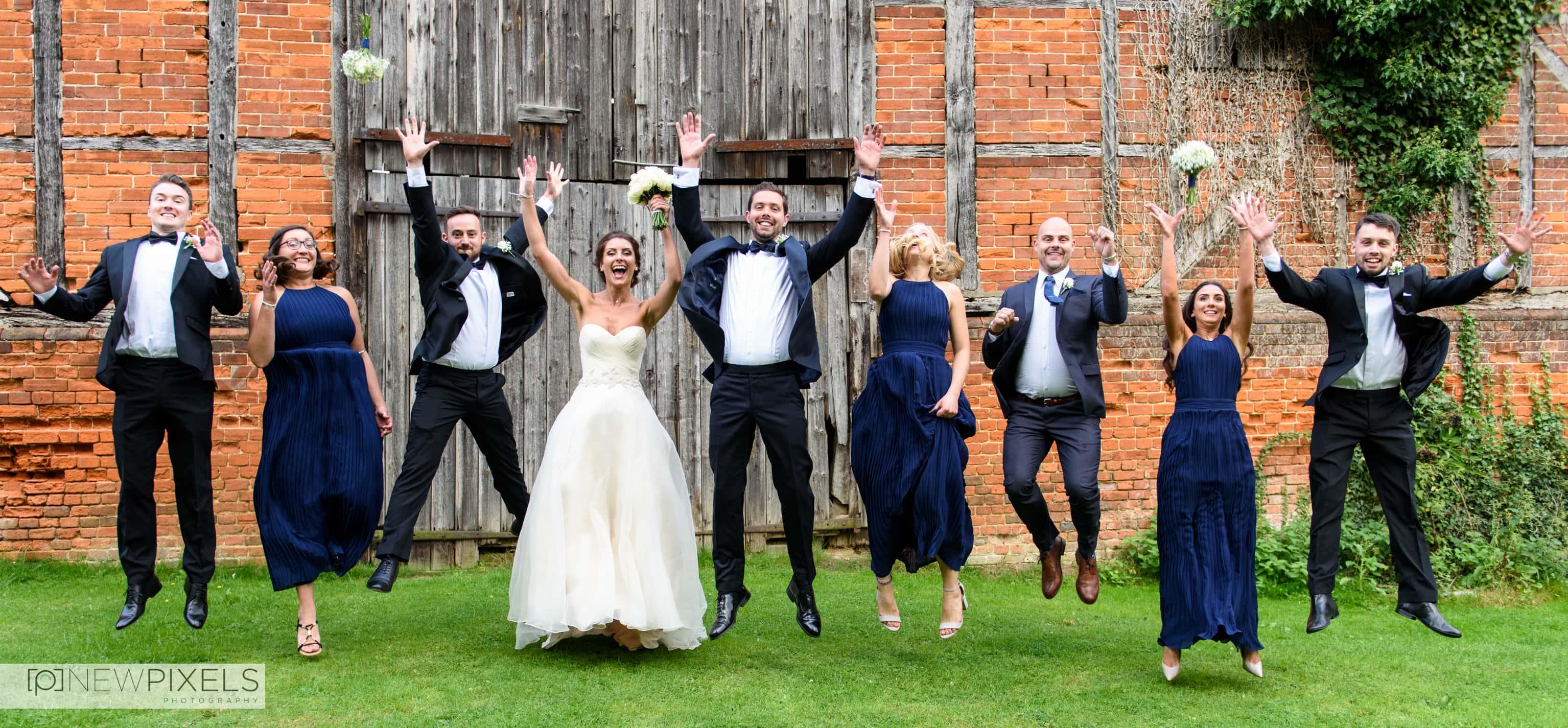 Newlands Hall Wedding Photography-24