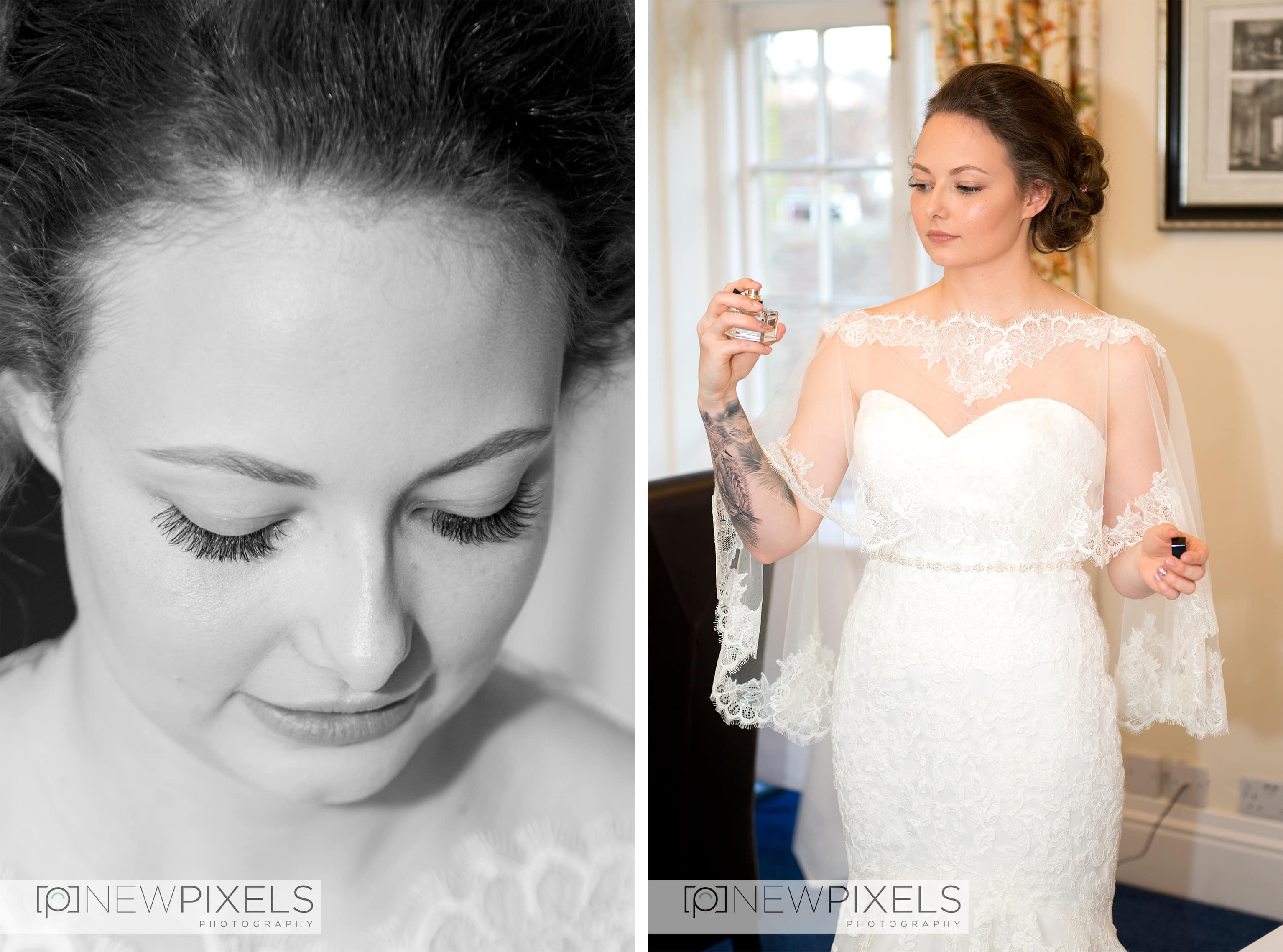 flowers at Hitchin Priory - Wedding Photography