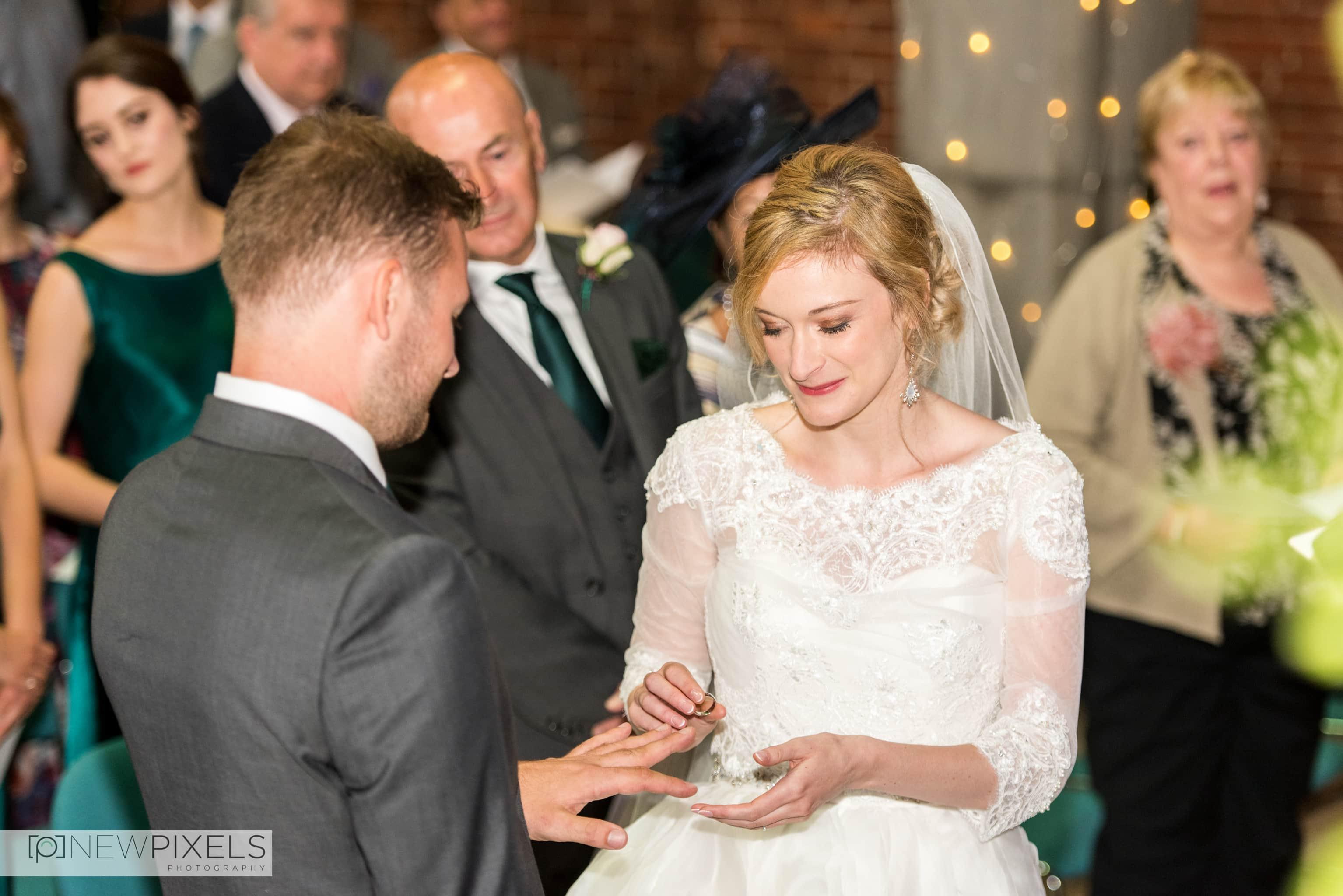 Brunswick House Wedding Photograph-11