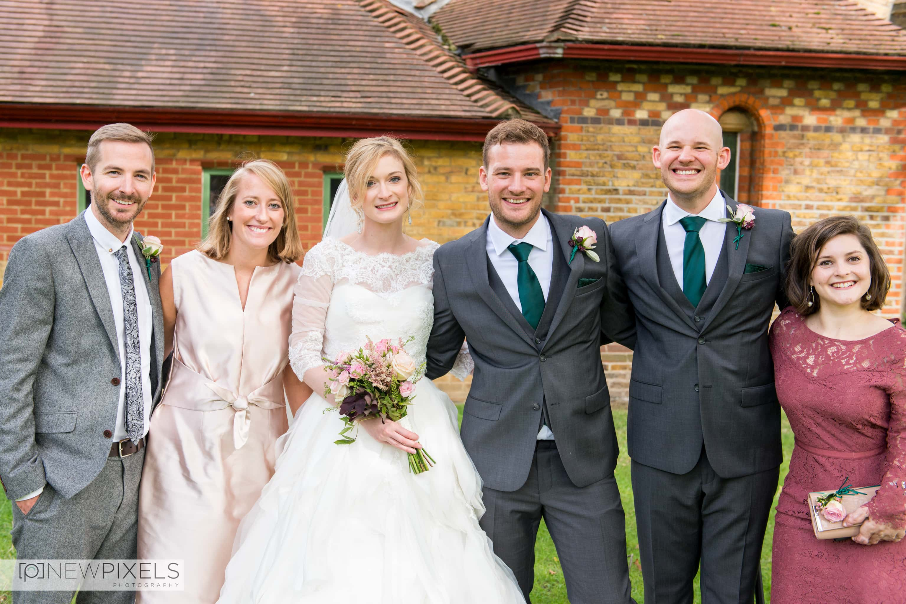 Brunswick House Wedding Photograph-14