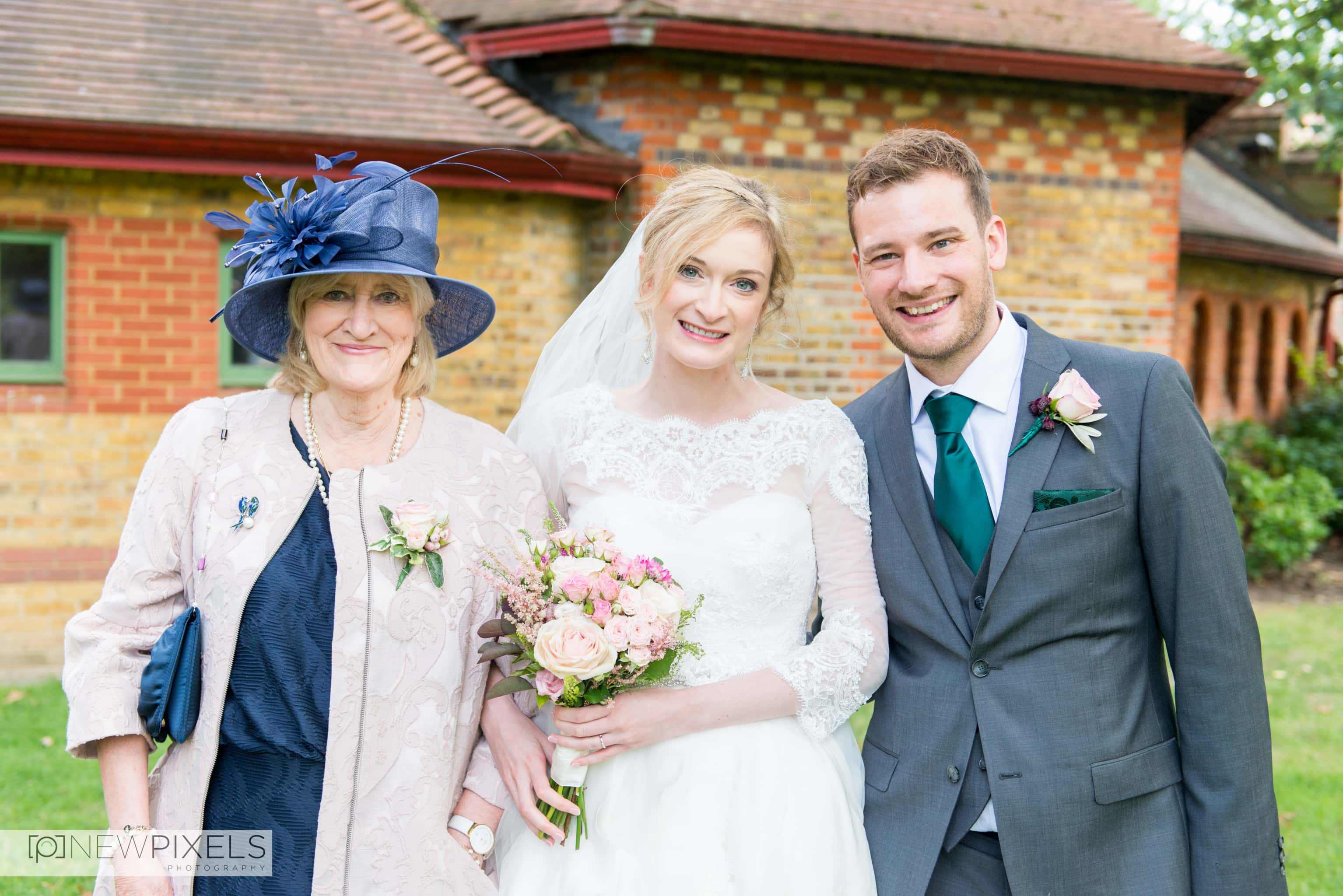 Brunswick House Wedding Photograph-15