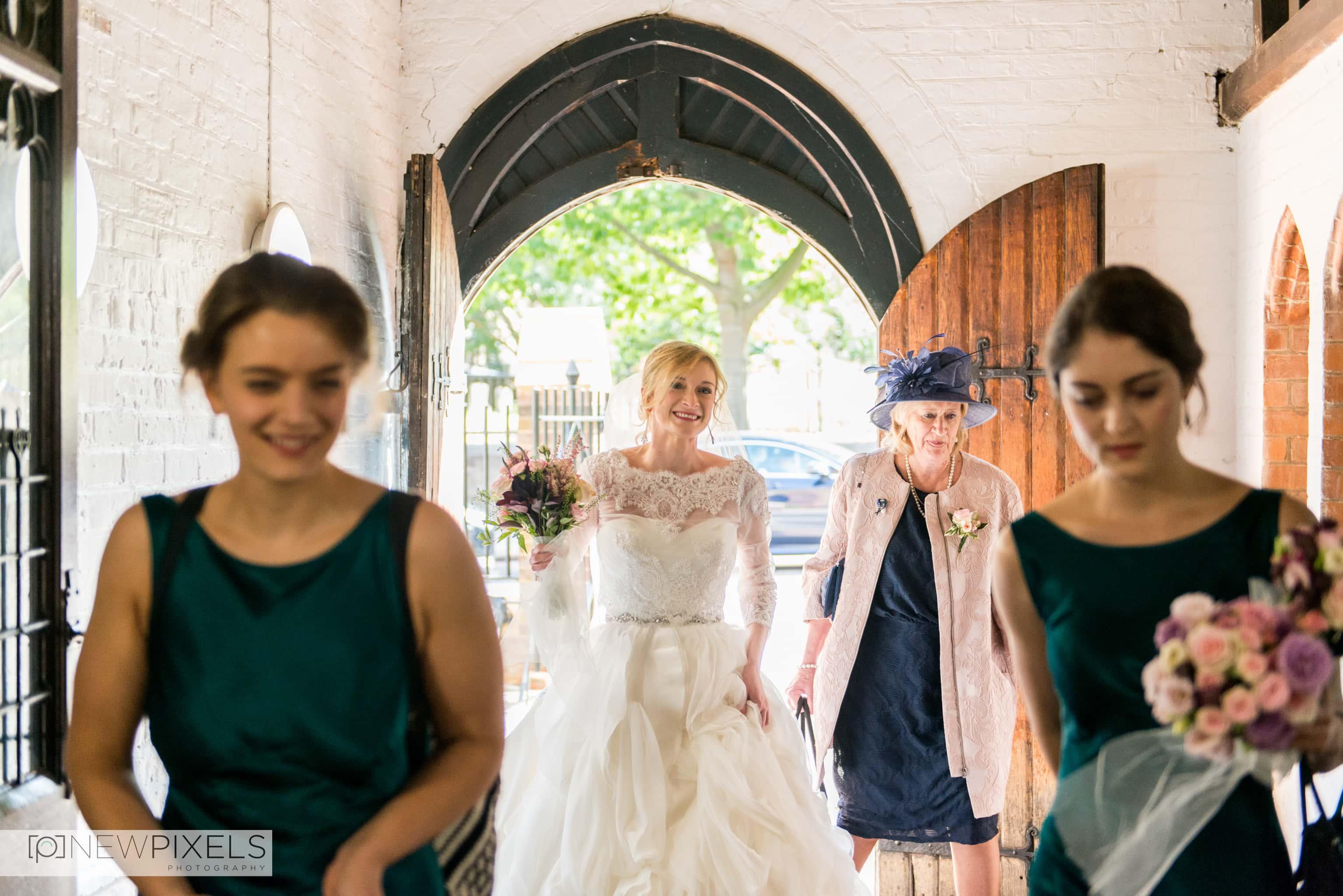 Brunswick House Wedding Photograph-2