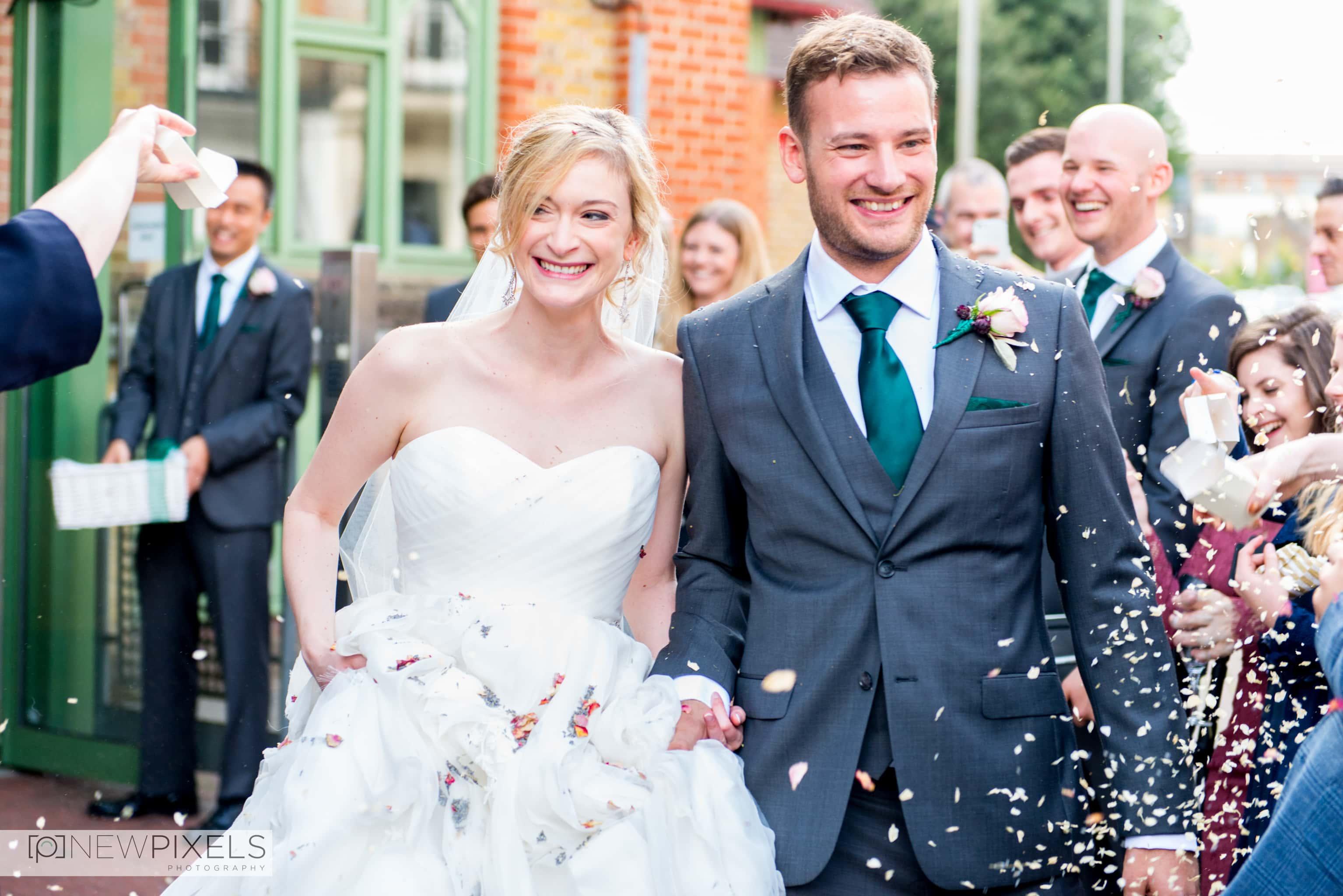 Brunswick House Wedding Photograph-22
