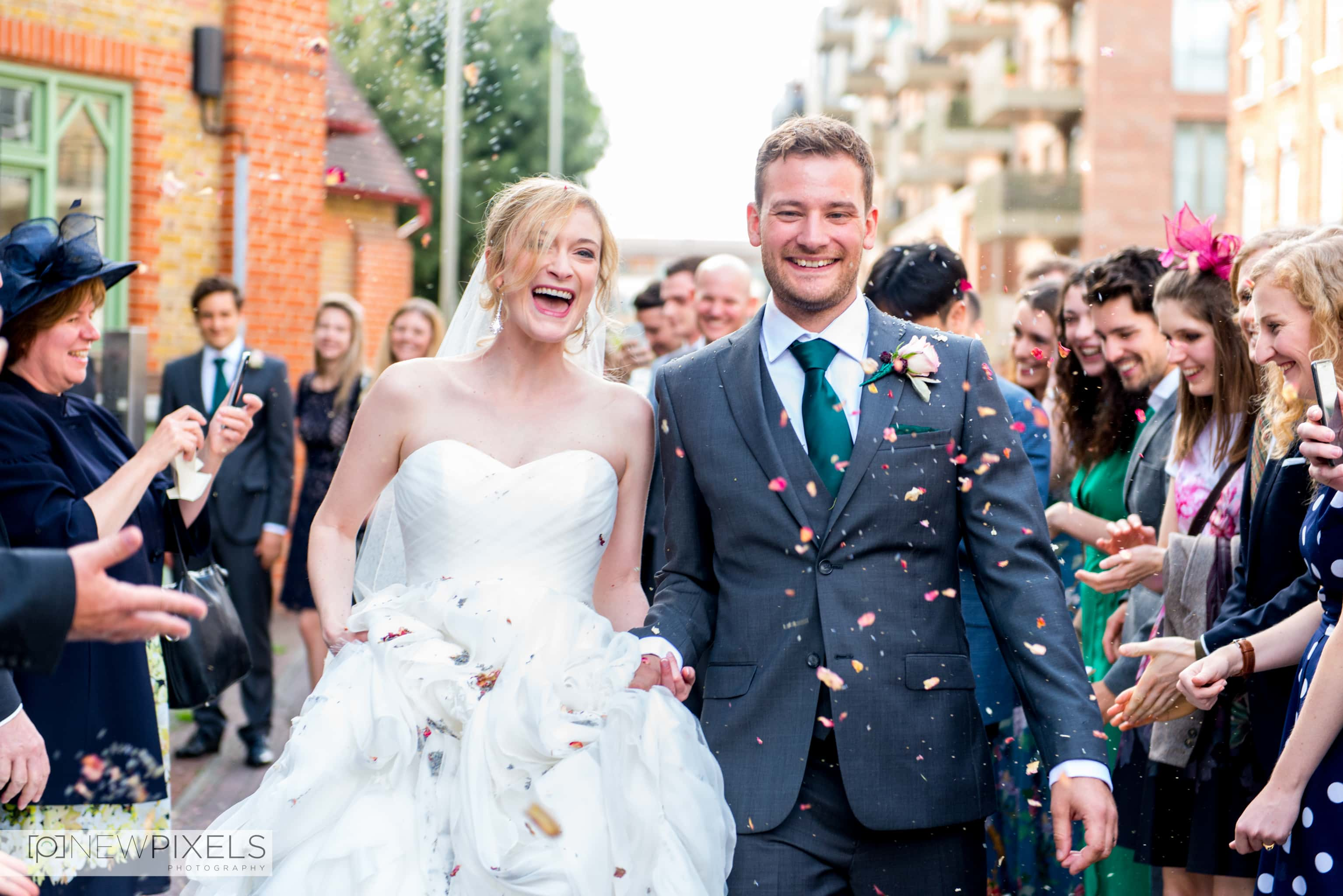Brunswick House Wedding Photograph-23