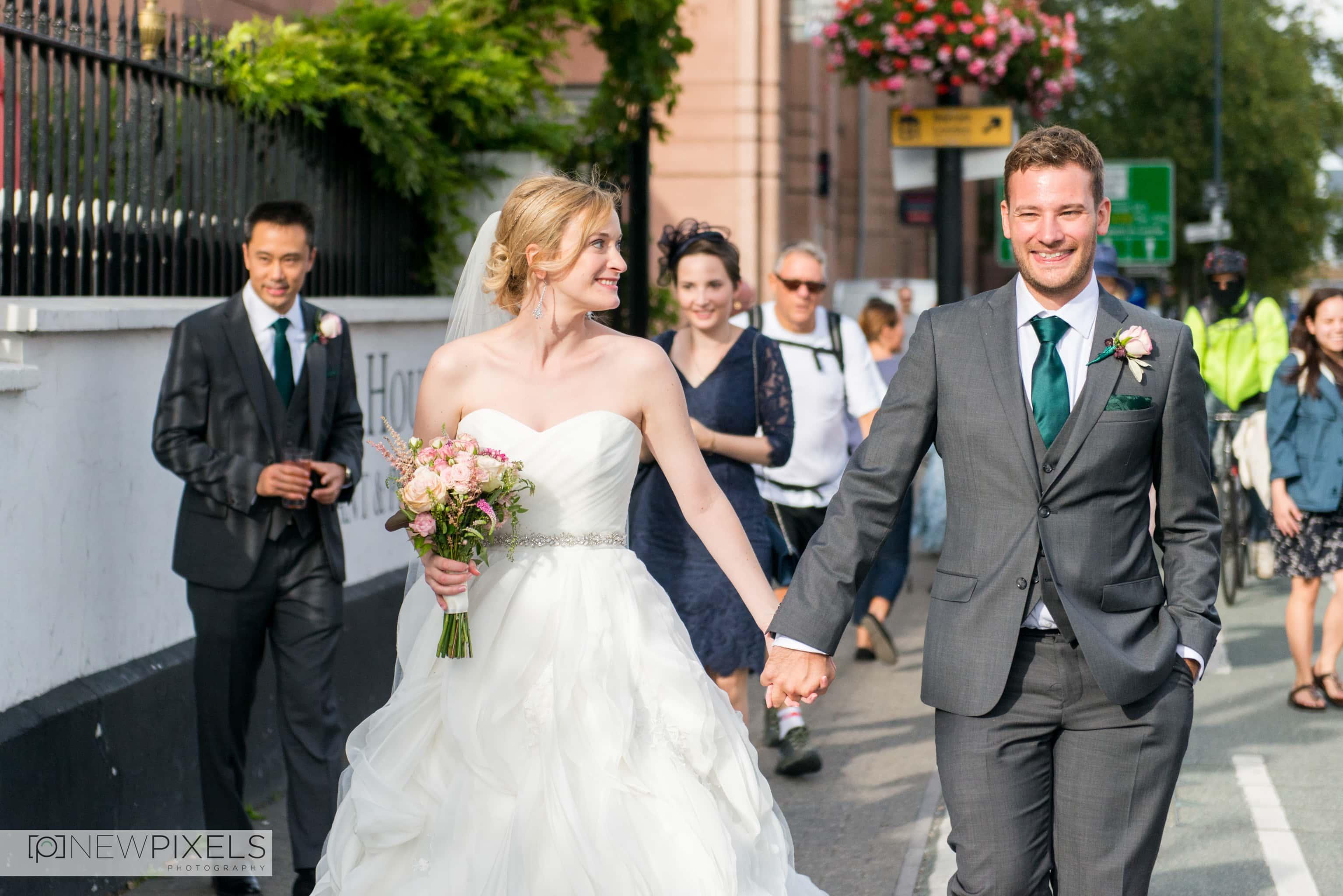 Brunswick House Wedding Photograph-24