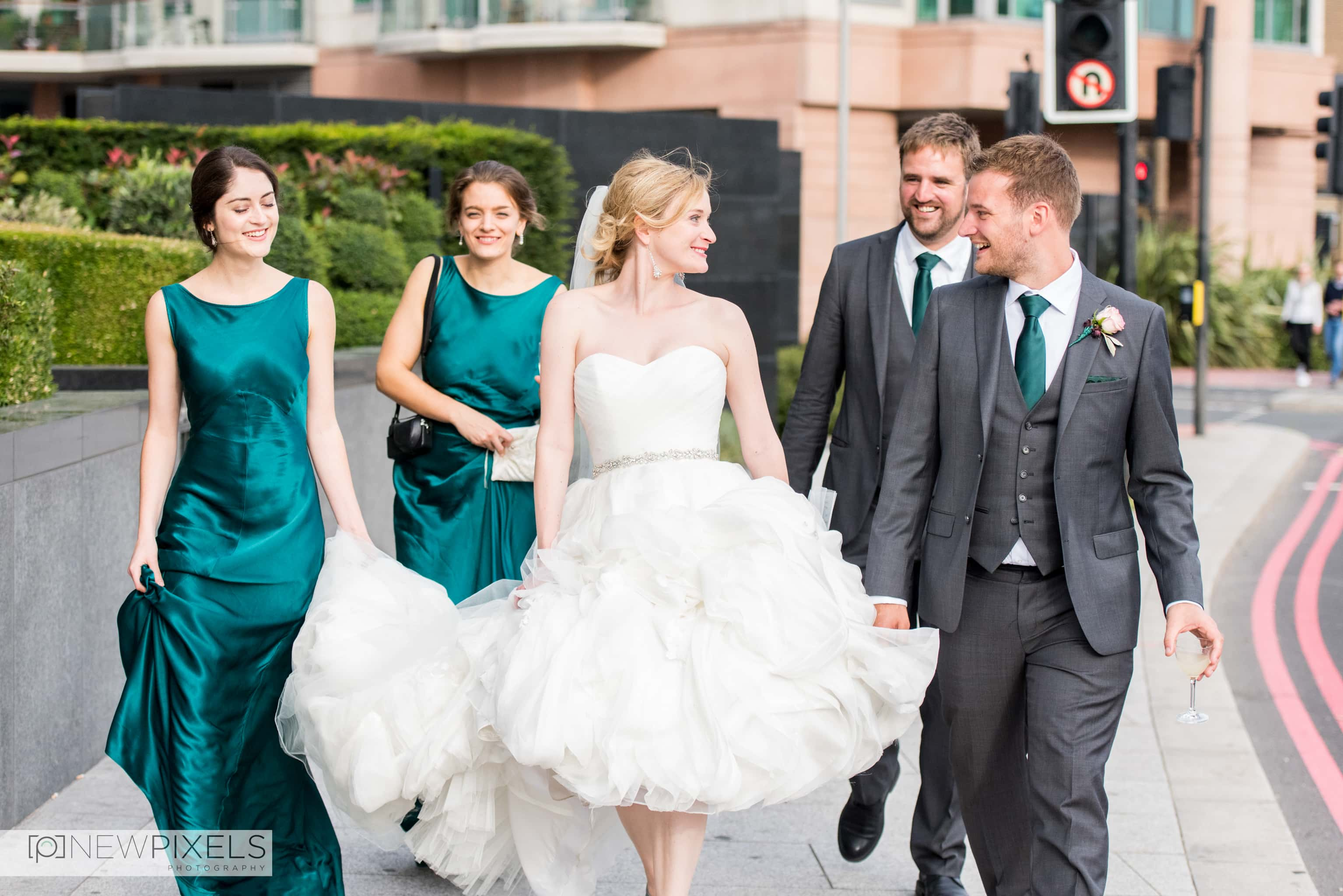 Brunswick House Wedding Photograph-26