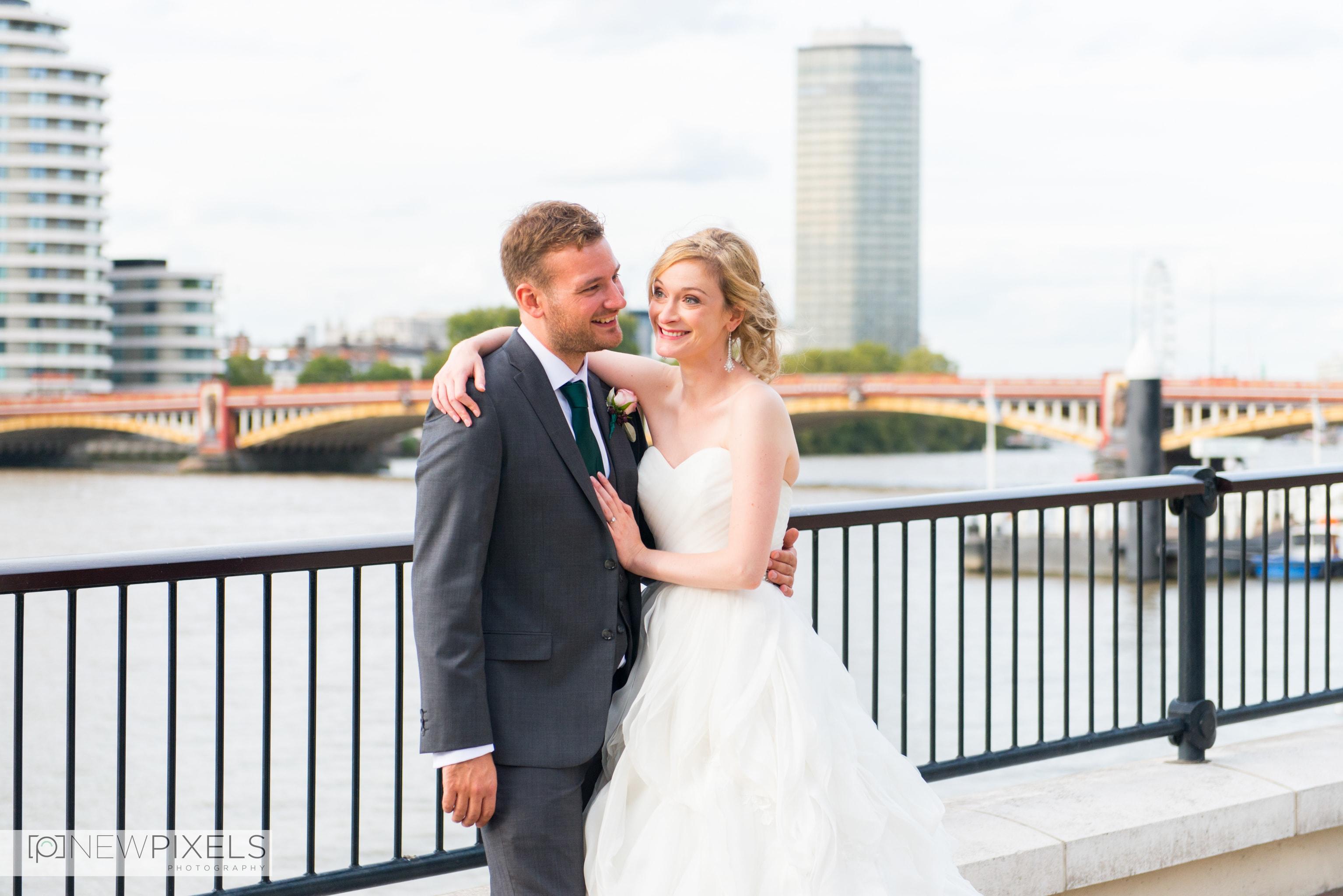 Brunswick House Wedding Photograph-28