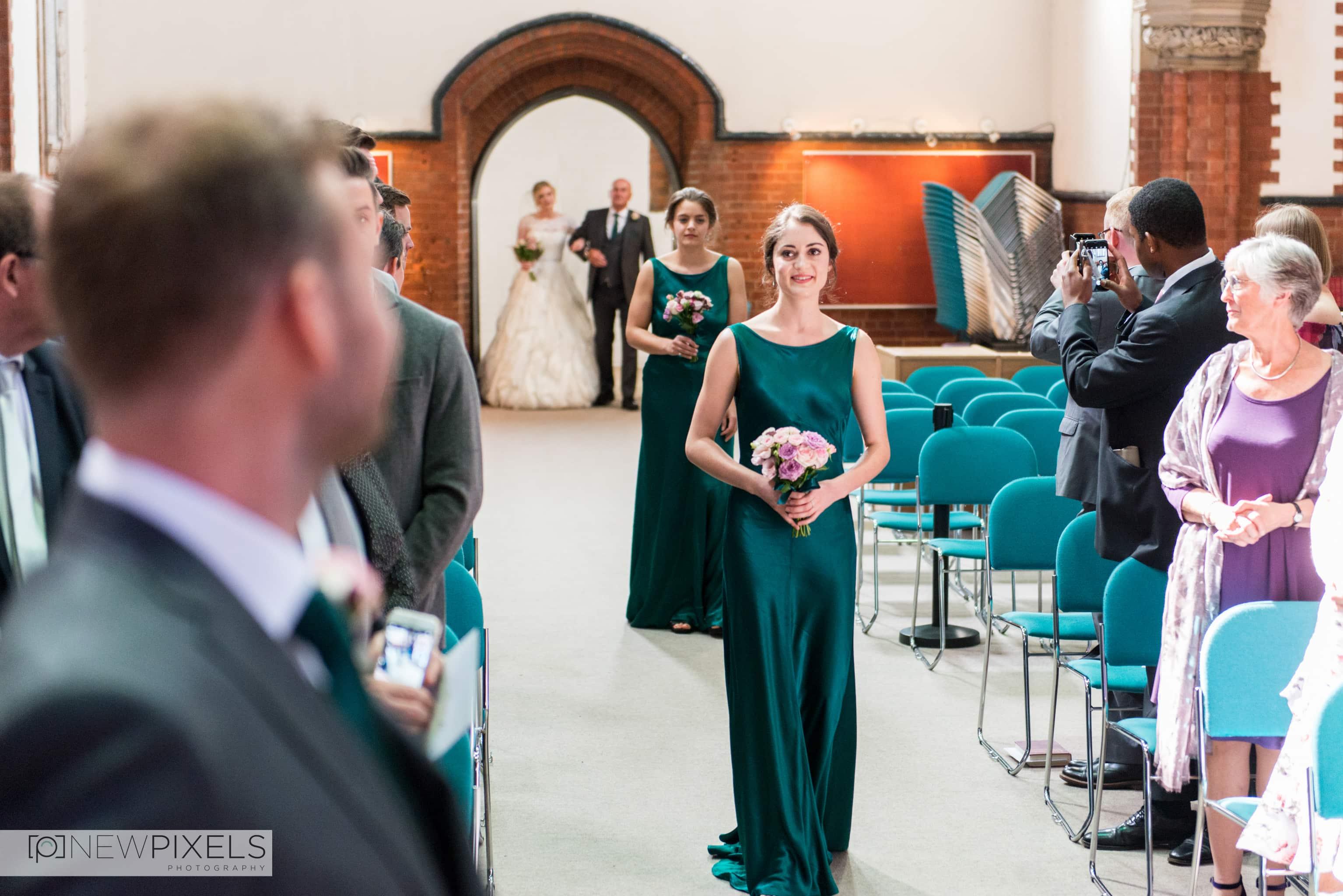 Brunswick House Wedding Photograph-3