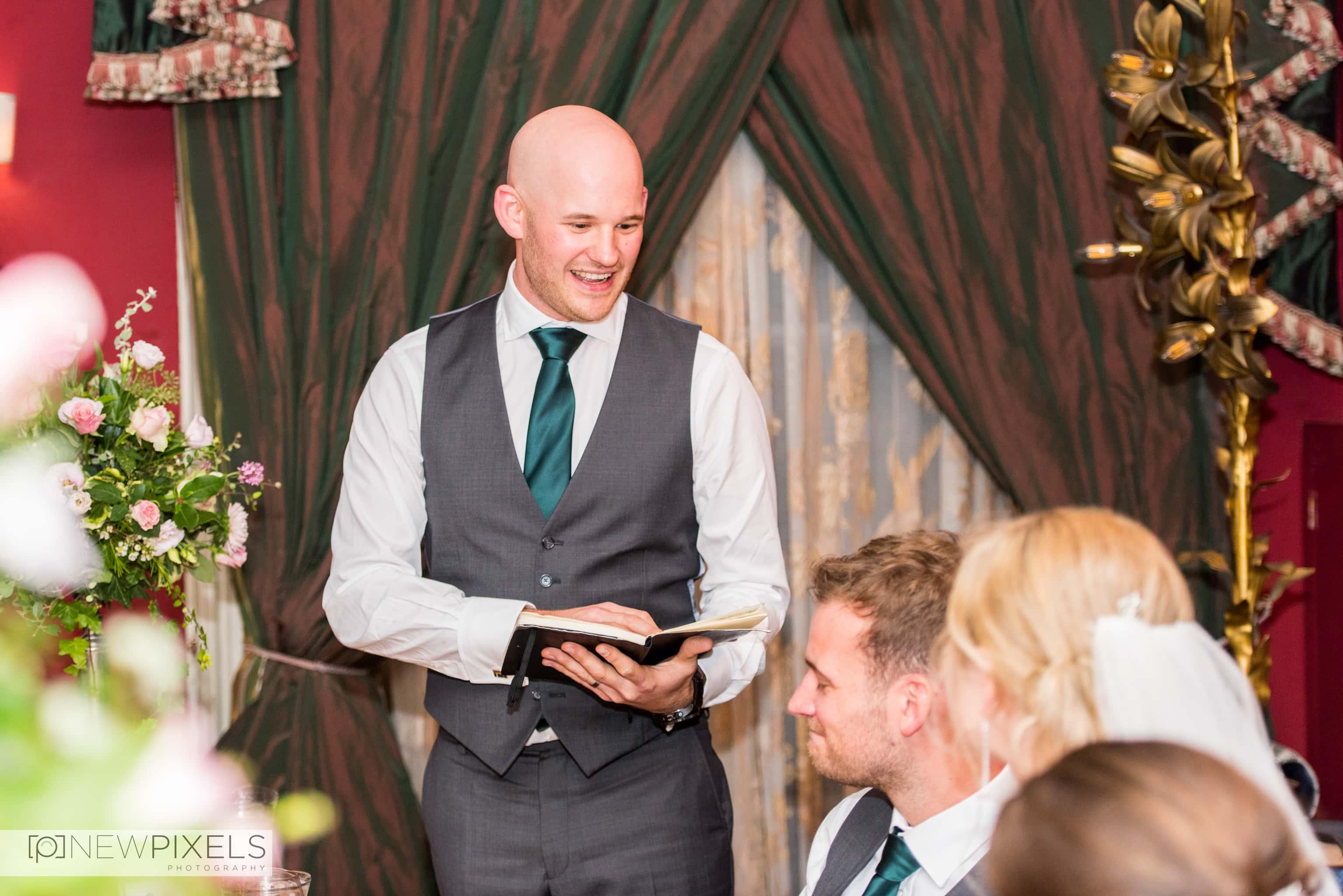 Brunswick House Wedding Photograph-39