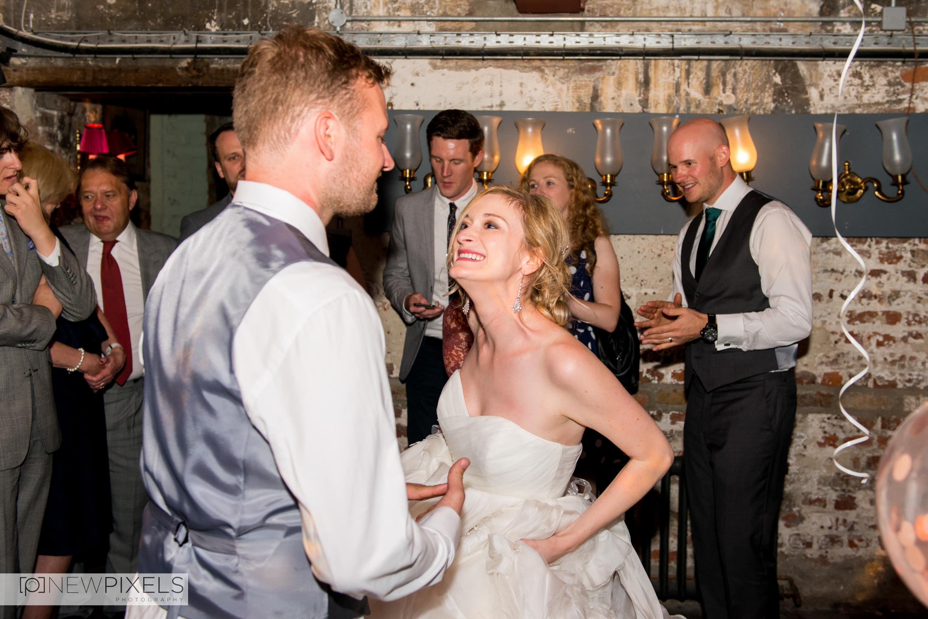 Brunswick House Wedding Photograph-43