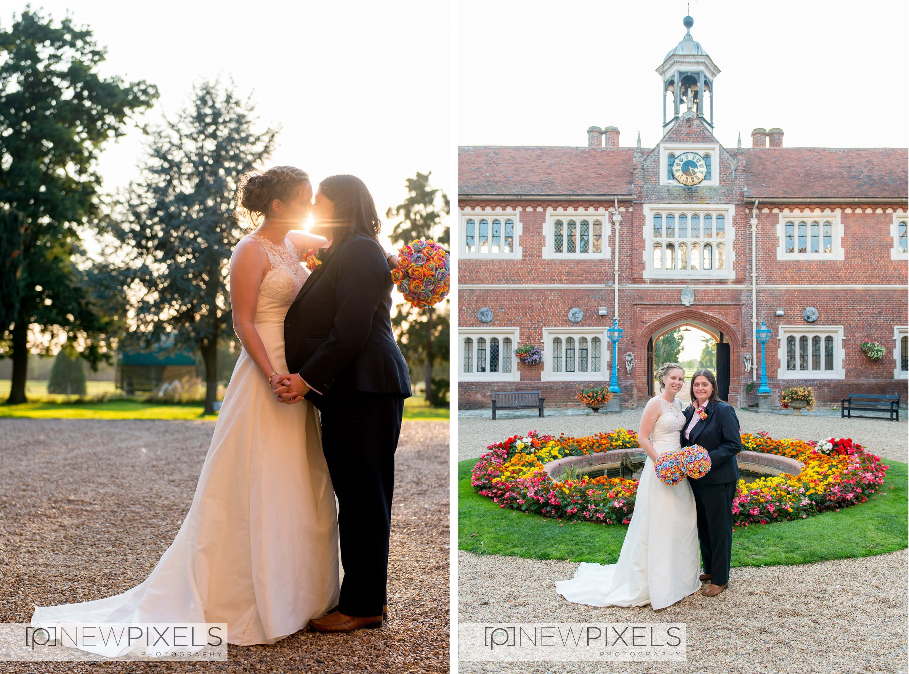 Gosfield Hall Wedding Photographer-9