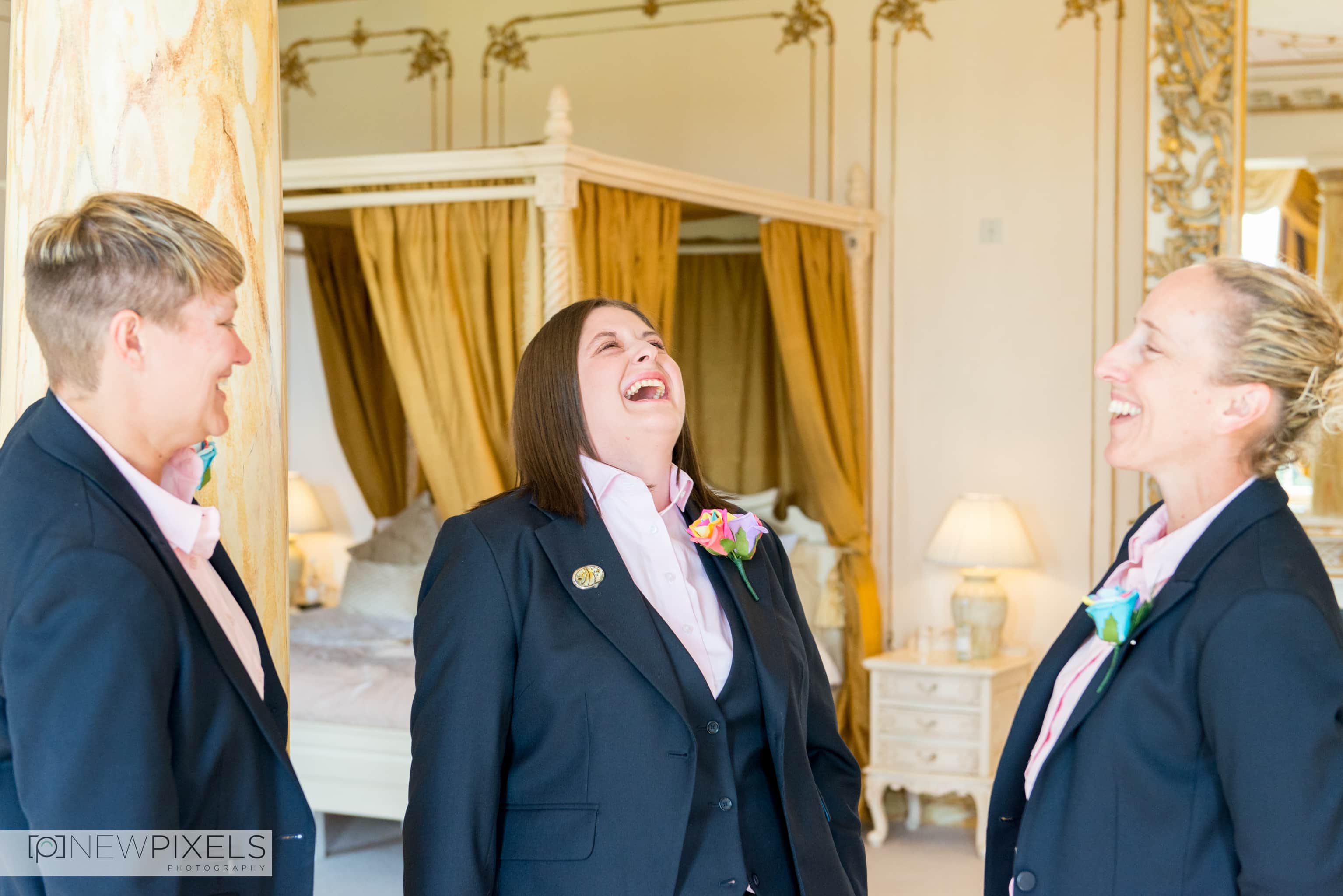 Gosfield Hall Wedding Photographs-16