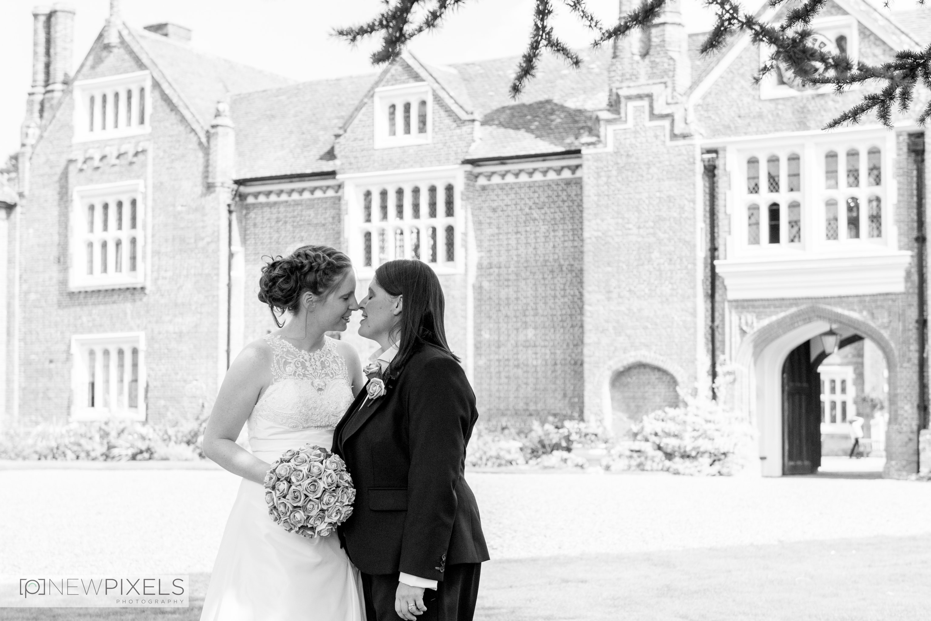 Gosfield Hall Wedding Photographs-34