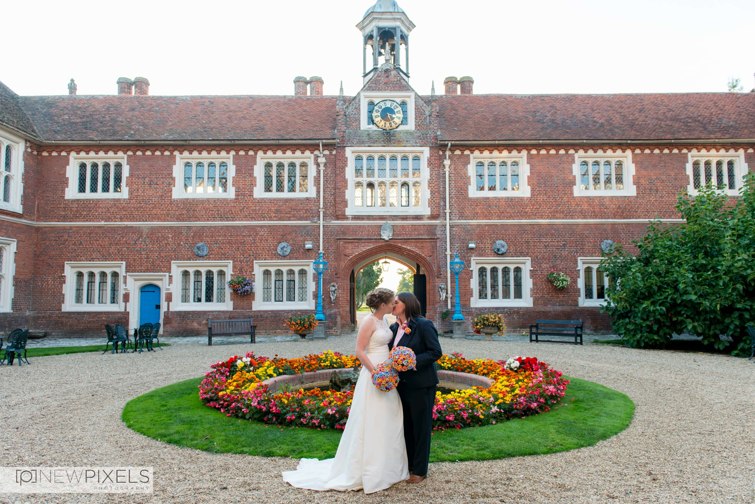 Gosfield Hall Wedding Photographs-50