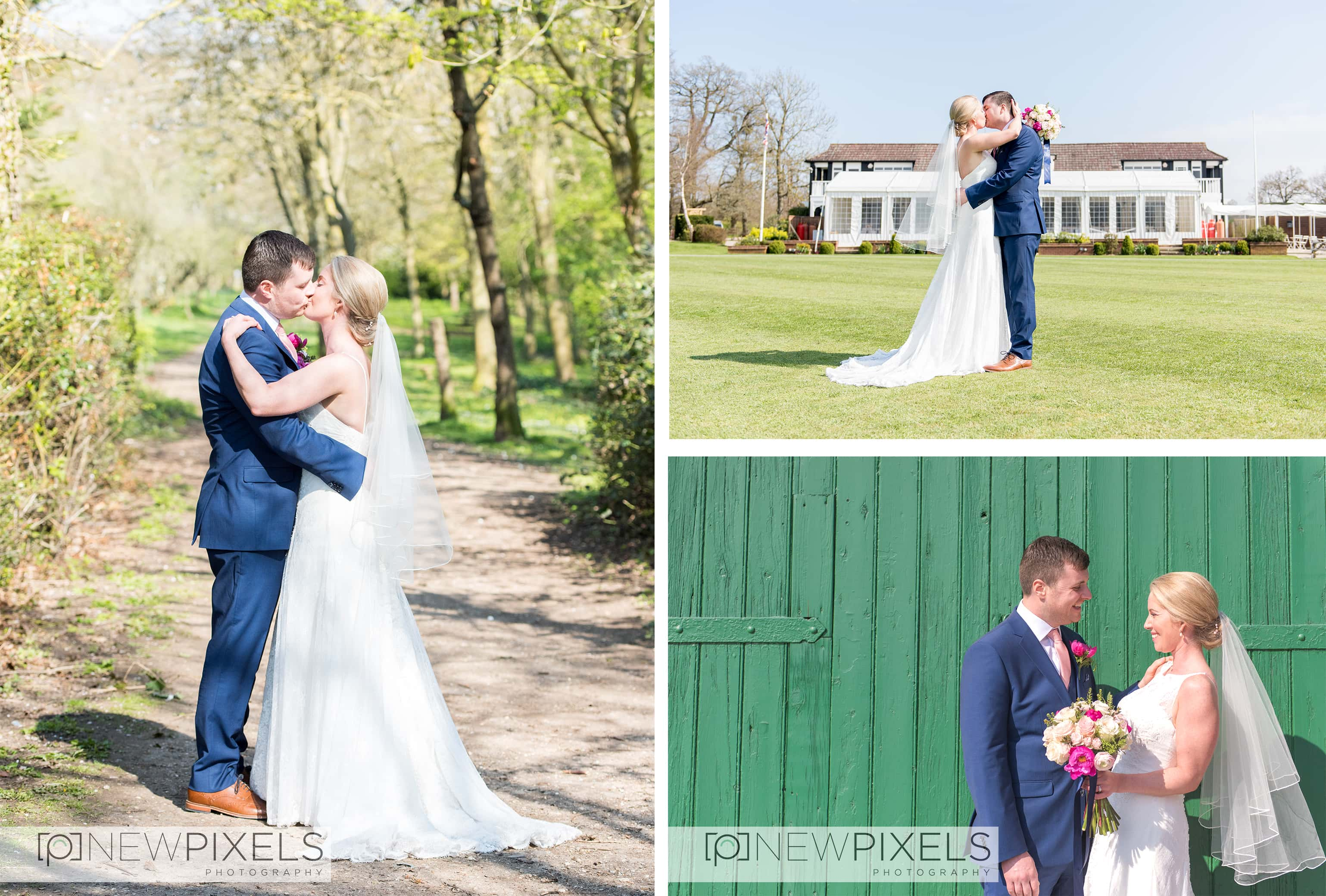 Last weekend we had the best time photographing Ciara & Chris' wedding at the London Shenley Club. We've photographed at this venue many times and it never fails to disappoint. The staff are wonderful and super helpful, the grounds are great for group shots and sunset photos and the wall gardens just up the road is the perfect location to get some intimate couple shots away from all your guests :)