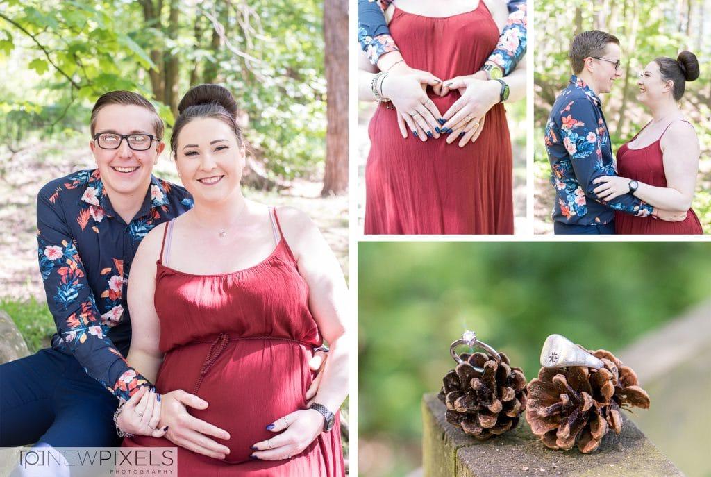 centre parcs elveden engagement and maternity shoot