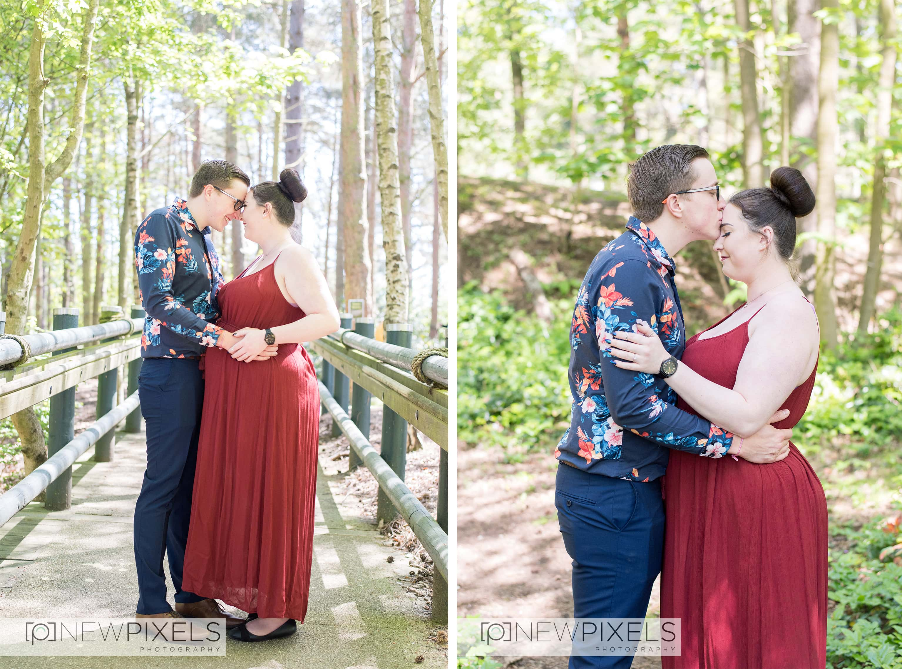 centre parcs elveden engagement and maternity shoot